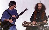 Sergei Letov and Davy Villjams, 1996