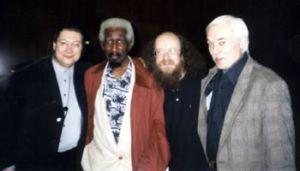 (Alexander Aleksandrov, Mal Waldron, Sergei Letov, Jury Parfyonov, Cologne 1999, Last Jazz Ether of the Millenium on Westdeutsche Rundfunk)